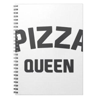 Caderno Espiral Rainha da pizza