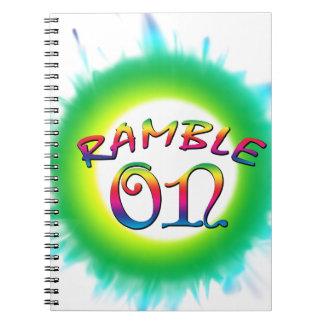 Caderno Espiral Ramble sobre