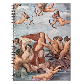 Caderno Espiral Raphael - Triumph de Galatea 1512
