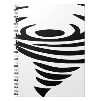 Caderno Espiral Redemoinho
