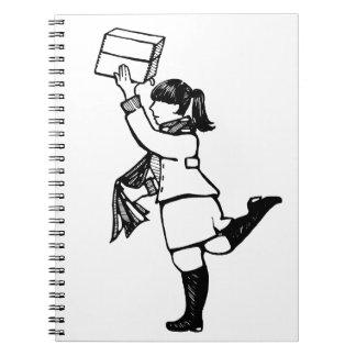 Caderno Espiral Regra dos arquivistas