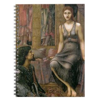 Caderno Espiral Rei Cophetua e empregada doméstica de Edward - de