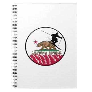 Caderno Espiral República do esqui