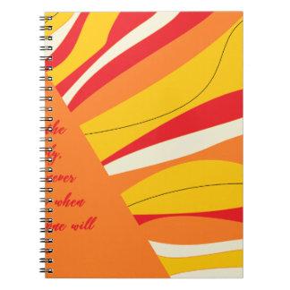 Caderno Espiral respire profundamente