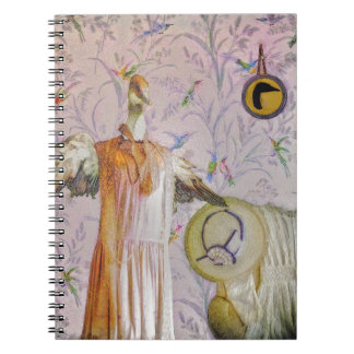 Caderno Espiral Retrato da Sra. Smew