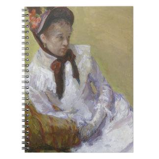 Caderno Espiral Retrato do artista - Mary Cassatt