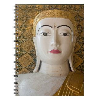 Caderno Espiral Retrato do estado de Buddha