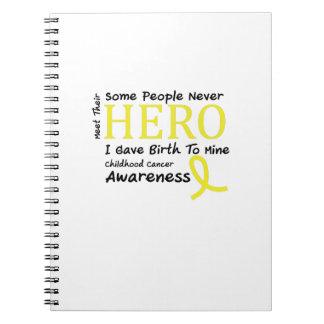 Caderno Espiral Reunião da consciência do cancer da infância minha