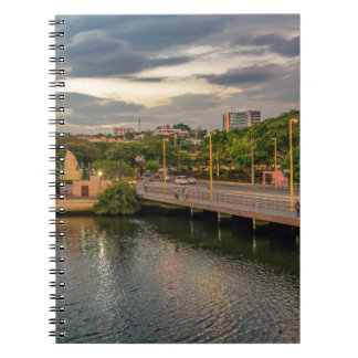 Caderno Espiral Rio Guayaquil Equador de Estero Salado