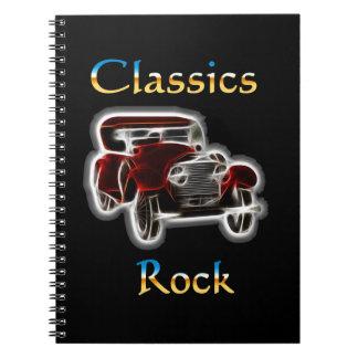 Caderno Espiral rocha 2 dos clássicos