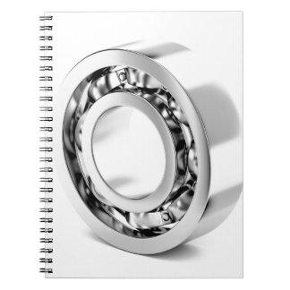 Caderno Espiral Rolamento de esferas