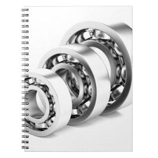 Caderno Espiral Rolamentos de esferas