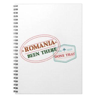 Caderno Espiral Romania feito lá isso