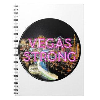 Caderno Espiral Rosa forte de Vegas