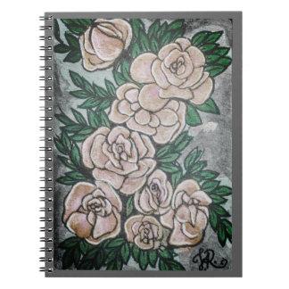 Caderno Espiral Rosas Card#5