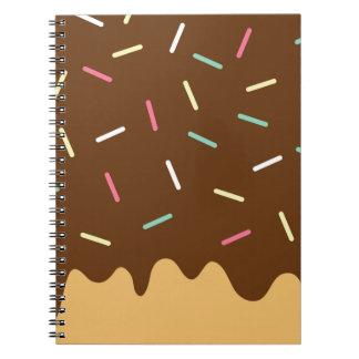 Caderno Espiral Rosquinha do chocolate
