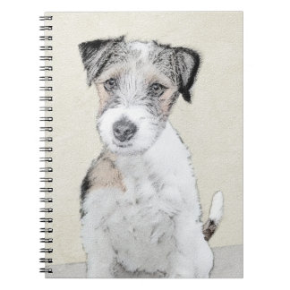 Caderno Espiral Russell Terrier (áspero)