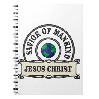 Caderno Espiral salvador do cristo de toda a humanidade