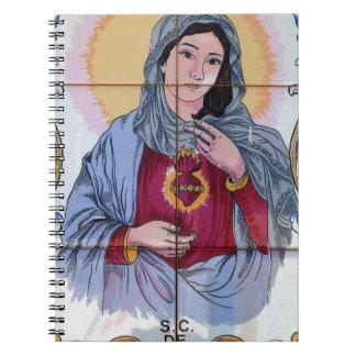 Caderno Espiral Santo Maria na igreja Católica