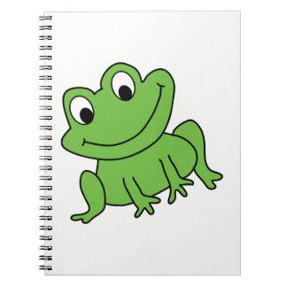 Caderno Espiral Sapo