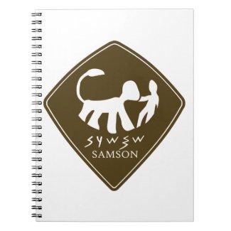 Caderno Espiral Selo de Sansão