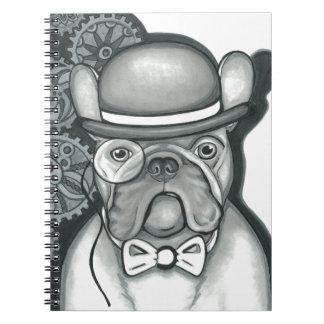 Caderno Espiral Senhor Bouledogue