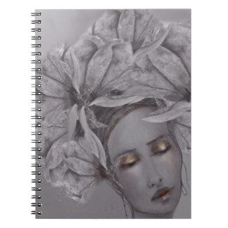 Caderno Espiral Senhora Magnólia