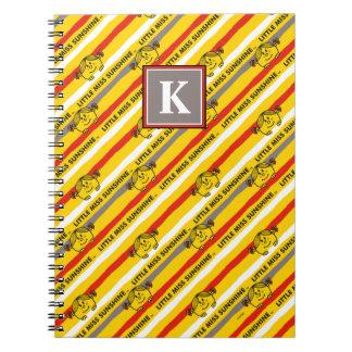 Caderno Espiral Senhorita pequena Luz do sol | vermelho, teste