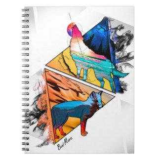 Caderno Espiral Sentido animal