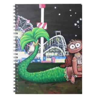Caderno Espiral Sereia de Coney Island