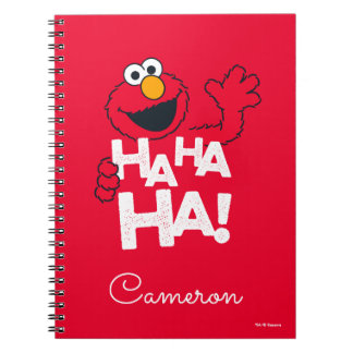Caderno Espiral Sesame Street | Elmo - Ha Ha Ha!
