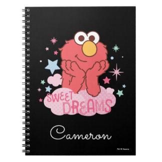 Caderno Espiral Sesame Street | Elmo - sonhos doces