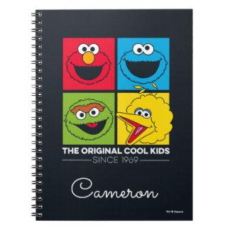 Caderno Espiral Sesame Street | os miúdos legal originais