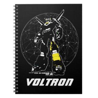 Caderno Espiral Silhueta de Voltron | sobre o mapa