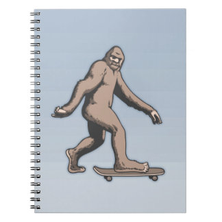 Caderno Espiral Skate de Bigfoot