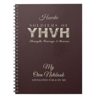 Caderno Espiral SOLDADOS do cristão de YHVH