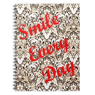 Caderno Espiral Sorri cada dia