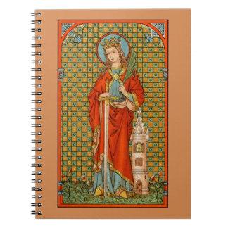 Caderno Espiral St. Barbara (JP 01) (estilo #2)