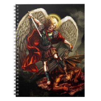 Caderno Espiral St Michael o arcanjo