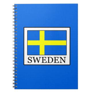 Caderno Espiral Suecia