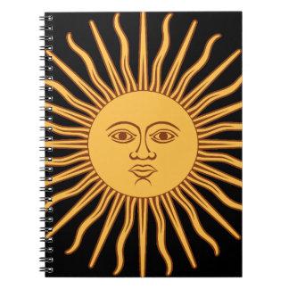 Caderno Espiral Sun