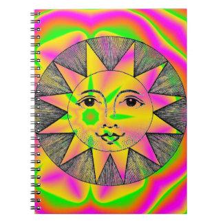 Caderno Espiral Sun de sorriso