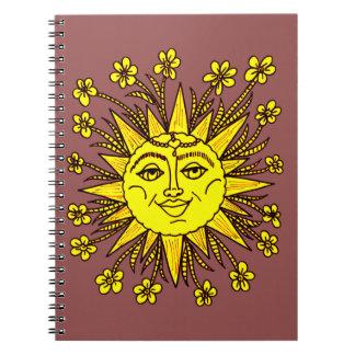 Caderno Espiral Sunhine