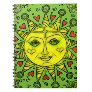 Caderno Espiral Sunhine 2a