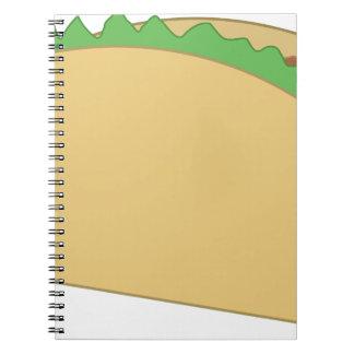 Caderno Espiral Taco