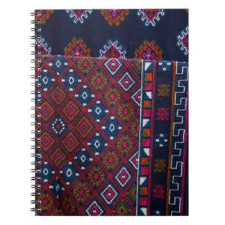Caderno Espiral Tapetes butaneses