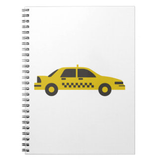 Caderno Espiral Táxi
