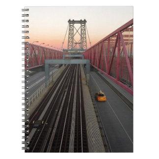 Caderno Espiral Táxi de Brooklyn