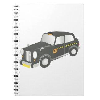Caderno Espiral Táxi velho