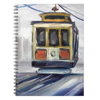 Caderno Espiral Teleférico de San Francisco